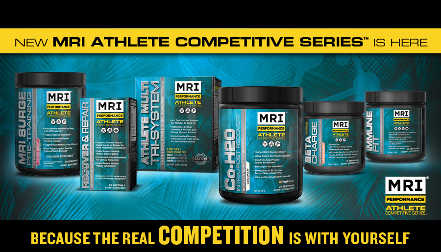 Athlete Competitive Series Endurance Energy Drinks by MRI-Performance